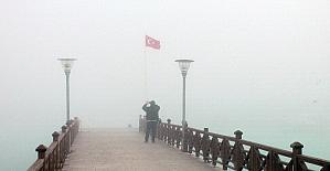 Karadeniz'de yoğun sis görüş mesafesini düşürdü