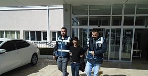 Karaman'da işyeri ve evlerden hırsızlık yapan şahıs tutuklandı
