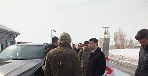 Kaymakam Kırlı'dan güvenlik güçlerine ziyaret