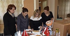Kırıkkale'den El Bab'daki Türk Askerine Anlamlı Destek