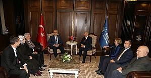 Kosova büyükelçisinden Büyükşehir'e ziyaret
