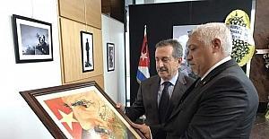 Küba Büyükelçisi Casals söyleşi için geliyor
