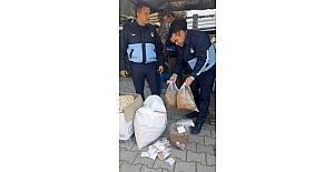 Kumluca'da kaçak sigara ve tütün operasyonu