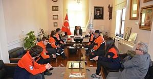 MAG AME ekibinden Başkan Eşkinat'a ziyaret