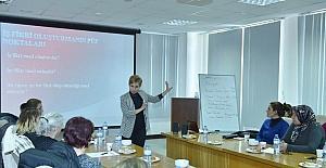 Mersin Valiliği koordinesinde KOSGEB Girişimcilik Eğitimi