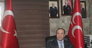 MHP Erzurum İl Başkanı Karataş, referandum için 'evet' dedi