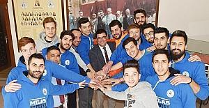 Milas Belediyespor hedef çıtasını ikincilikten şampiyonluğa yükseltti