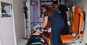 Milas'ta iki motosiklet çarpıştı; 3 yaralı