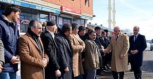 Milletvekili Ilıcalı, Referandum startını Çat'ta verdi