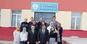 Milli Eğitim Müdürü Demir, Acıgöl'de okulları ziyaret etti