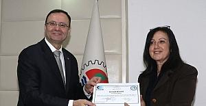 MTSO'da 115 girişimci sertifika aldı