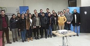 Murat Biricik, Hakkari'de seminer verdi