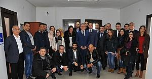 Murzioğlu, Tunuslu heyeti Samsun'u keşfetmeye davet etti