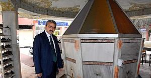 Nazilli'de tarihi Koca Caminin şadırvanı yenilendi