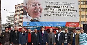 Necmettin Erbakan Nazilli'de dualarla anıldı