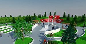 Niksar'da Şehitler Anıtı yenileniyor