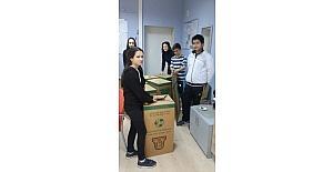 Öğrencilerden katı atık toplama kampanyası