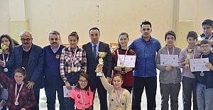 Okul Sporları Satranç Müsabakaları sona erdi