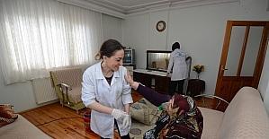 Ortahisar'da 239 vatandaşa evde bakım hizmeti veriliyor