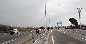 Otoban Denizli Çevre Yolu Bağlantı köprüsü tamamlandı