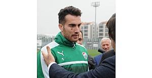 (Özel Haber) Bursaspor'un tribün liderleri Harun Tekin ile buluştu