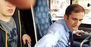 Engelli çocuk özel halk otobüsünden kovuldu