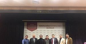 Prof. Dr. Ramazan Özdemir'in ilk misafirleri Malatya'dan