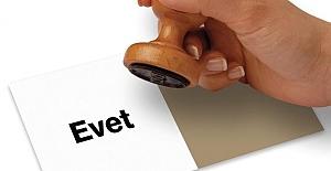 Referandum anketinde EVET açık ara...