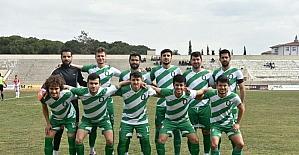 Salihli Belediyespor, Ahmetli'yi tek golle geçti