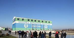SASKİ'de staj yapan öğrenciler kurumun inşa ettiği tesisleri gezdi