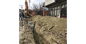 Soma'ya 4 bin 250 metrelik kanalizasyon hattı