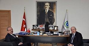 Tekirdağ İl Emniyet Müdürü Aydın, Büyükşehir Belediyesi'ni ziyaret etti