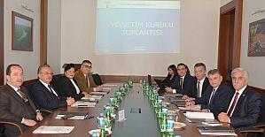 TRAKYAKA Yönetim Kurulu, aylık olağan toplantısı yapıldı