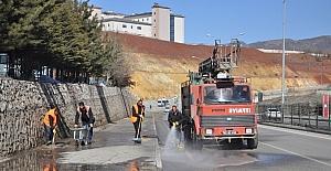 Tunceli Belediyesinden temizlik seferberliği