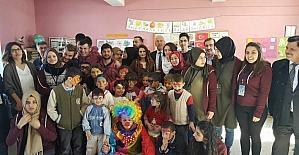 Tuzla Belediyesi Hayal Ağacı Projesi gönüllüleri Alaçam'da