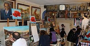 Vefat eden ressam Özbaşakçı anısına sergi açılacak
