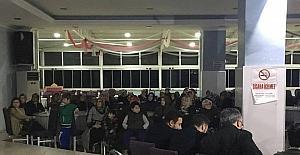 Vezirhan Beldesinde referandum bilgilendirme toplantısı düzenlendi