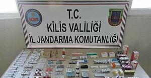 4 bin 117 adet tıbbi ilaç yakalandı
