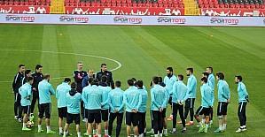 A Milliler Moldova maçına hazır