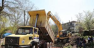 Adapazarı'nda 74 sokakta yol açımı yapıldı
