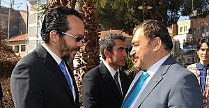 ADÜ Rektörü Bircan, Bakan Eroğlu ile görüştü