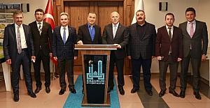 Ak Parti Grup Başkan Vekili Bostancı Başkan Sekmen'i ziyaret etti