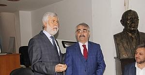 Ak Parti Milletvekili Tezcan, MHP Anamur teşkilatını ziyaret etti