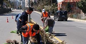 Akçakoca Belediyesi bahar çalışmalarına başladı