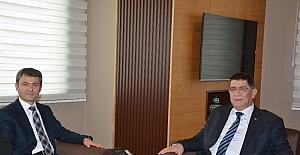 Antalya Vergi Dairesi Başkanı Uzun, AESOB'da