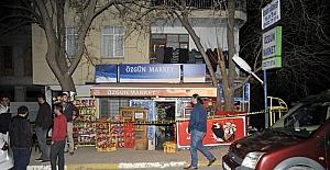 Antalyada market soygunu