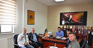 ASGD'den İnönü Üniversitesi BESYO Müdürü Gündoğdu'ya ziyaret