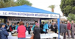 Aydın Büyükşehir'den kandil hayrı
