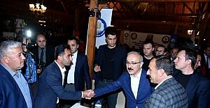 Bakan Elvan, Tarsus'ta işadamlarıyla buluştu