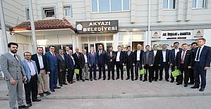 Başkan Akcan TÜMSİAD üyelerini ağırladı